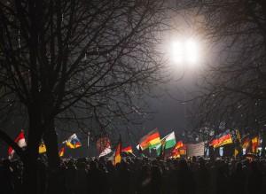 APTOPIX Germany Anti-Islam Rallies