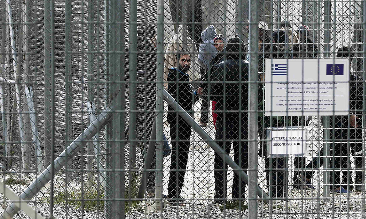Greece's detention policy in the absence of migration policy