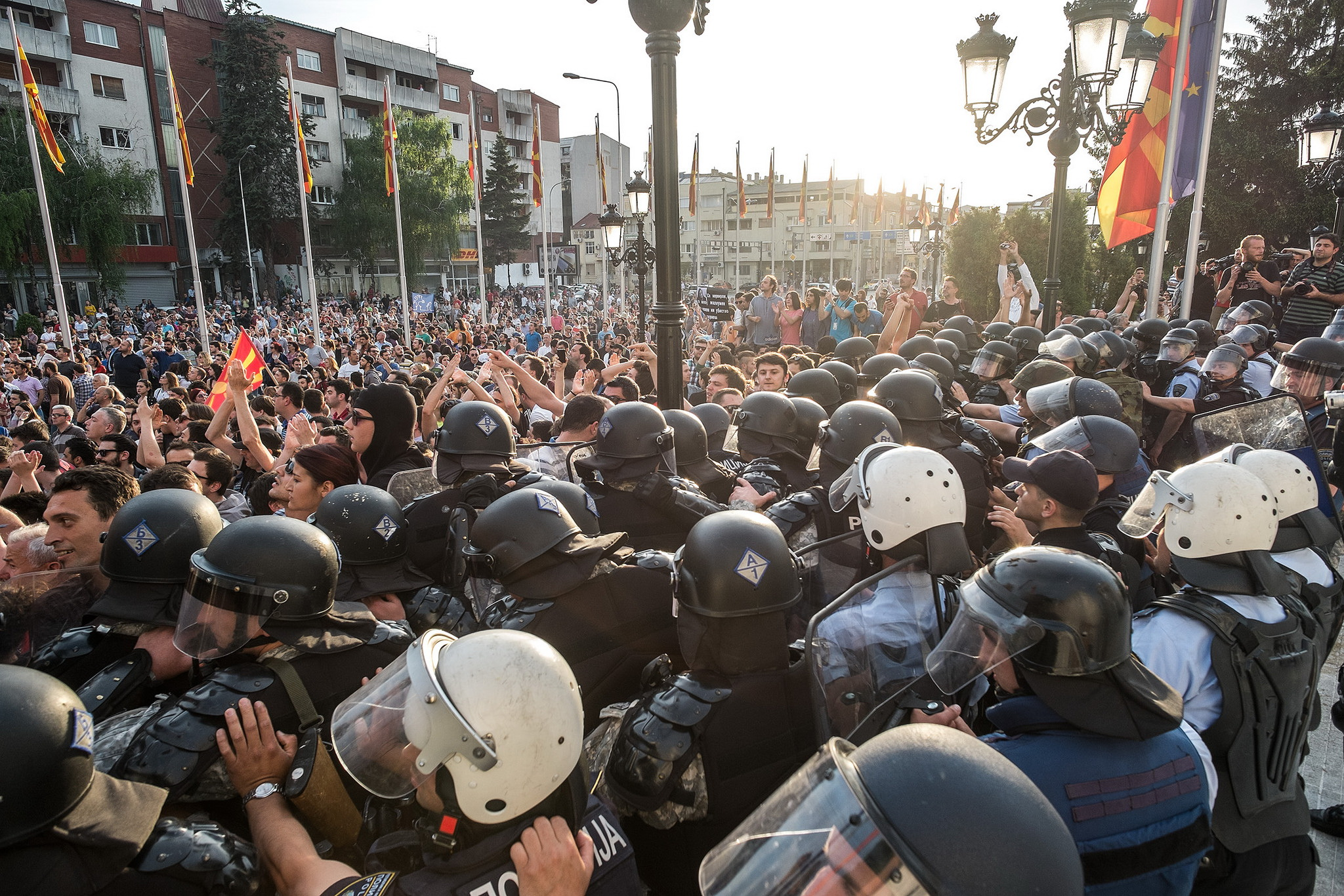 Macedonia's civil society stands up against police brutality