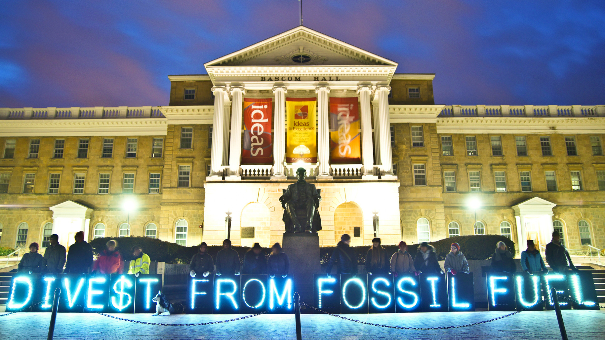 """Leave it in the ground"" – A divestment in ideas"