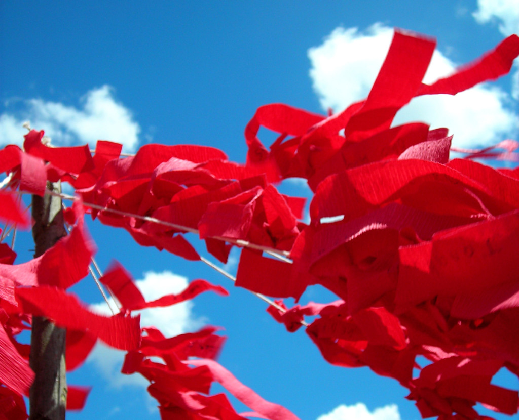 ribbon-for-a-hiv-aids-victim