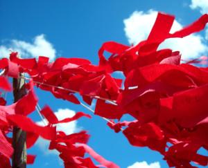 ribbon-for-a-hiv-aids-victim