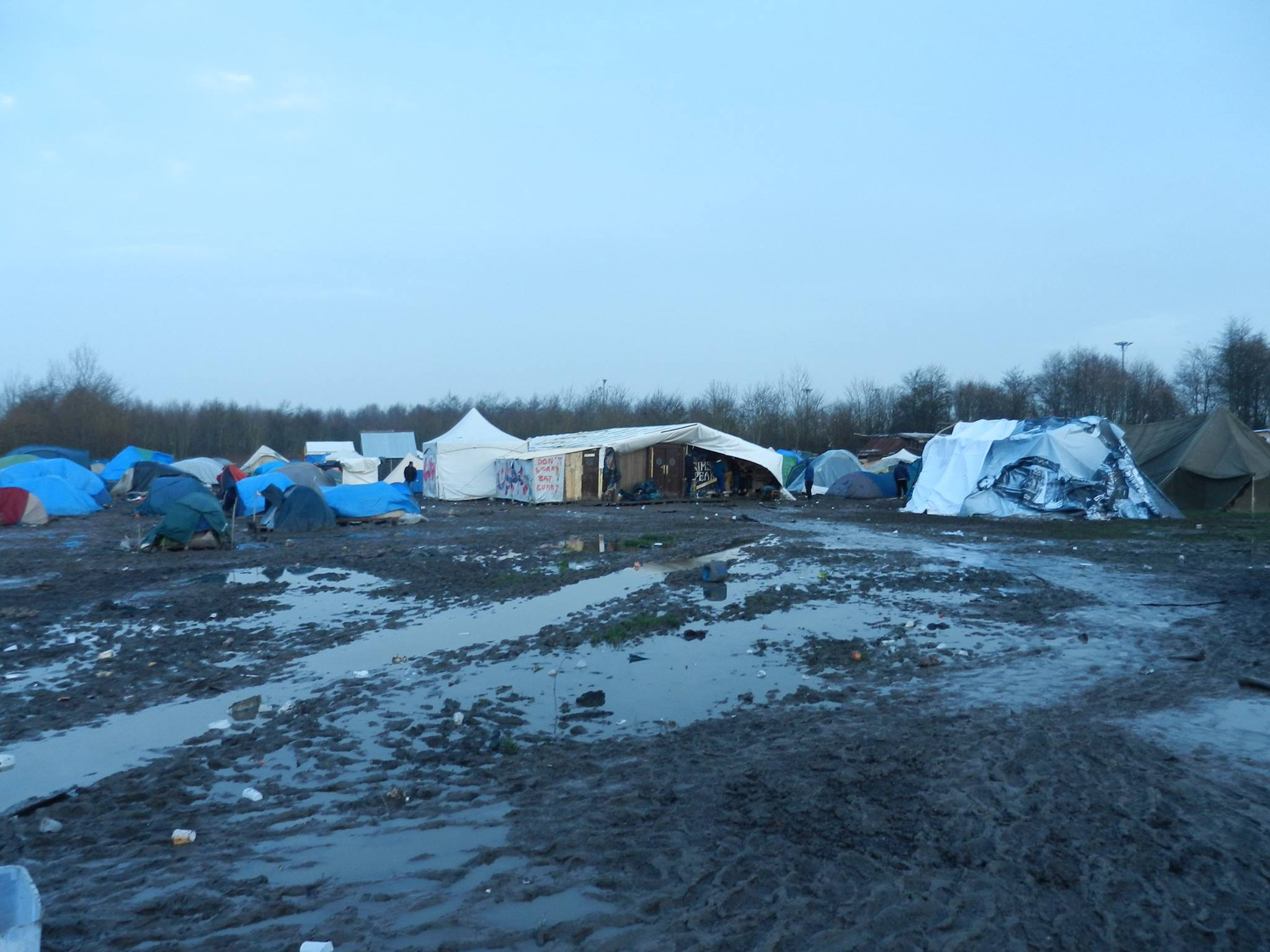 REPORT: The dark reality of Dunkirk's refugee camp