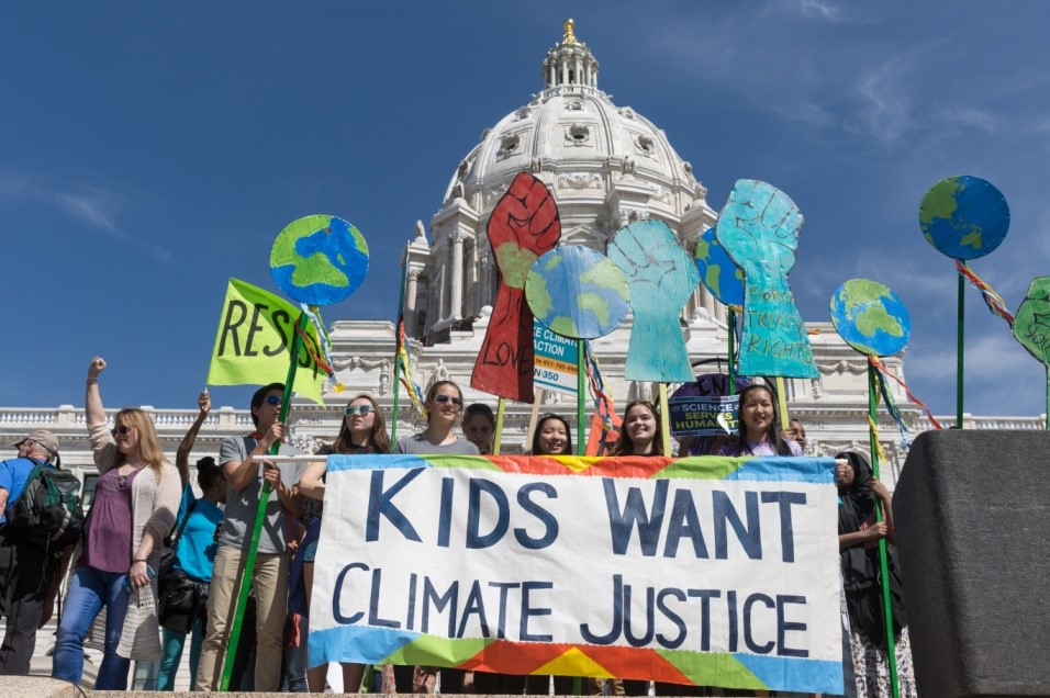 Climate change and human rights: the role of justice